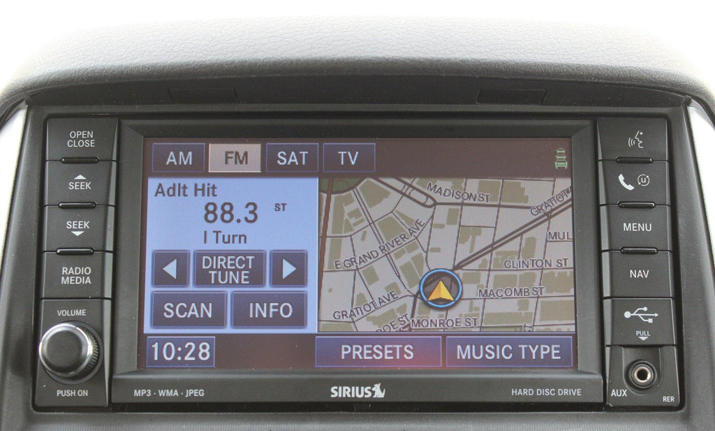 2008 2010 chrysler town country gps navigation rer 730n radio rh infotainment com 2014 Town and Country 2007 Town and Country Problems