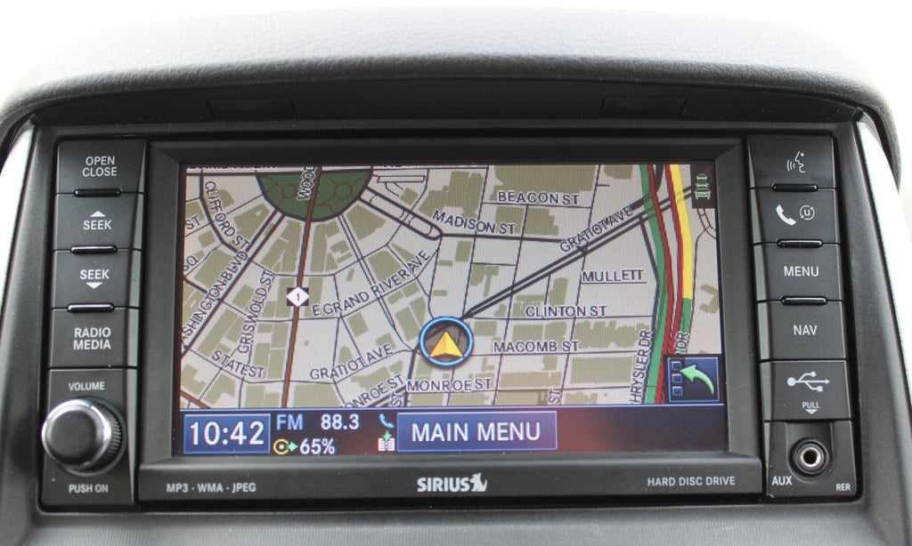 2008 2010 chrysler town country gps navigation rer 730n radio rh infotainment com 2007 Town and Country Parts 2007 Town and Country Parts