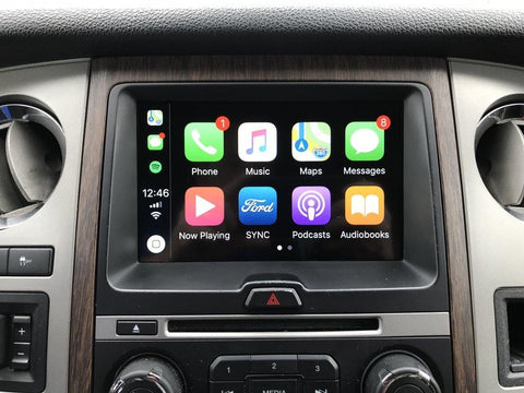 2015 Ford Expedition MyFord Touch Sync 2 to Sync 3 with Apple CarPlay and Android Auto Upgrade