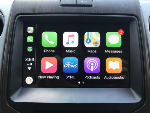 2013-2014 Ford F-150 MyFord Touch Sync 2 to Sync 3 with Apple CarPlay and Android Auto Upgrade