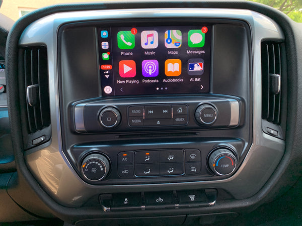 2014-2016 Chevrolet Silverado MyLink® Apple CarPlay and Android Auto Upgrade