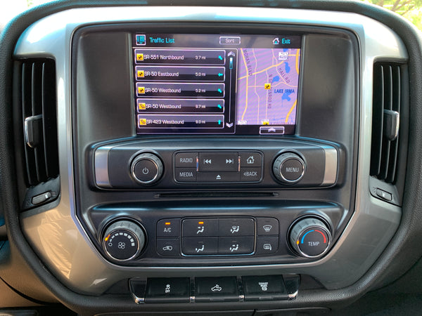 2014-2015 GMC Sierra IntelliLink® Apple CarPlay and Android Auto Upgrade