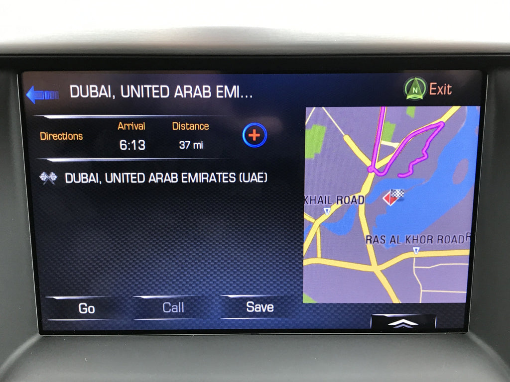 GM Middle East MAM IO6 GPS Navigation Radio Upgrade Infotainmentcom