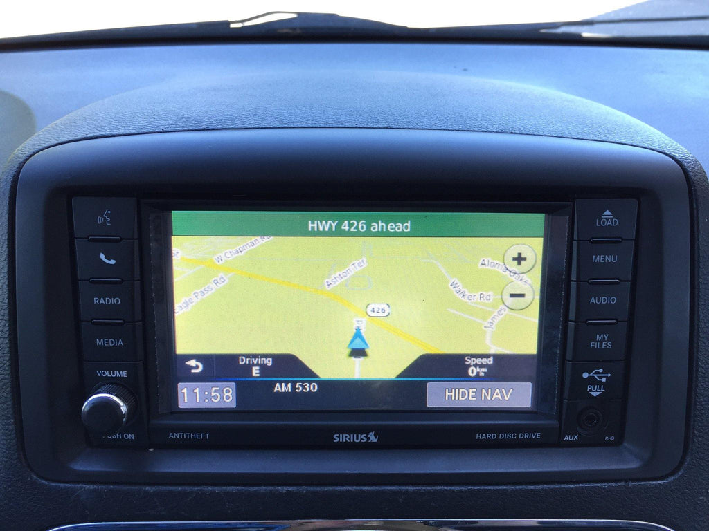2011-2019 Dodge Grand Caravan GPS Navigation RHB 430N Radio
