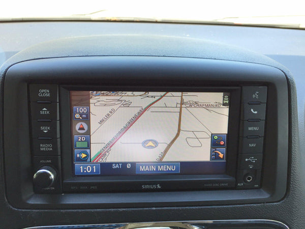 2011-2019 Dodge Grand Caravan GPS Navigation RHR 730N Radio
