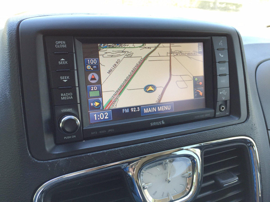 2011 2016 chrysler town country gps navigation rhr 730n radio rh infotainment com 2012 Town and Country 2012 Town and Country