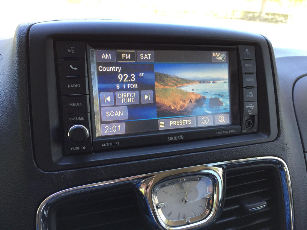 2011 2016 chrysler town country gps navigation rhb 430n radio rh infotainment com 2007 Town and Country Van 2007 Town and Country Van