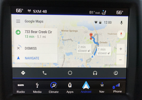 2014-2019 Dodge Durango GPS Navigation 8.4 4C NAV UAQ Radio with Apple CarPlay & Android Auto