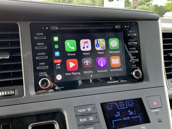 2015-2020 Toyota Sienna Entune 3.0 Radio with Apple CarPlay and Android Auto