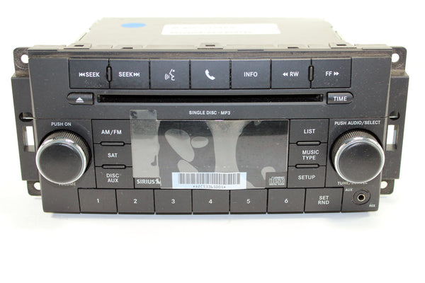 Mopar RES 130S CD Player SiriusXM Radio - Low