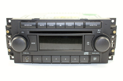 Mopar REF CD Player AUX Input Radio