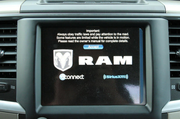 2013-2017 Infotainment Ram 1500 2500 3500 GPS Navigation 8.4AN RA4 Radio Upgrade