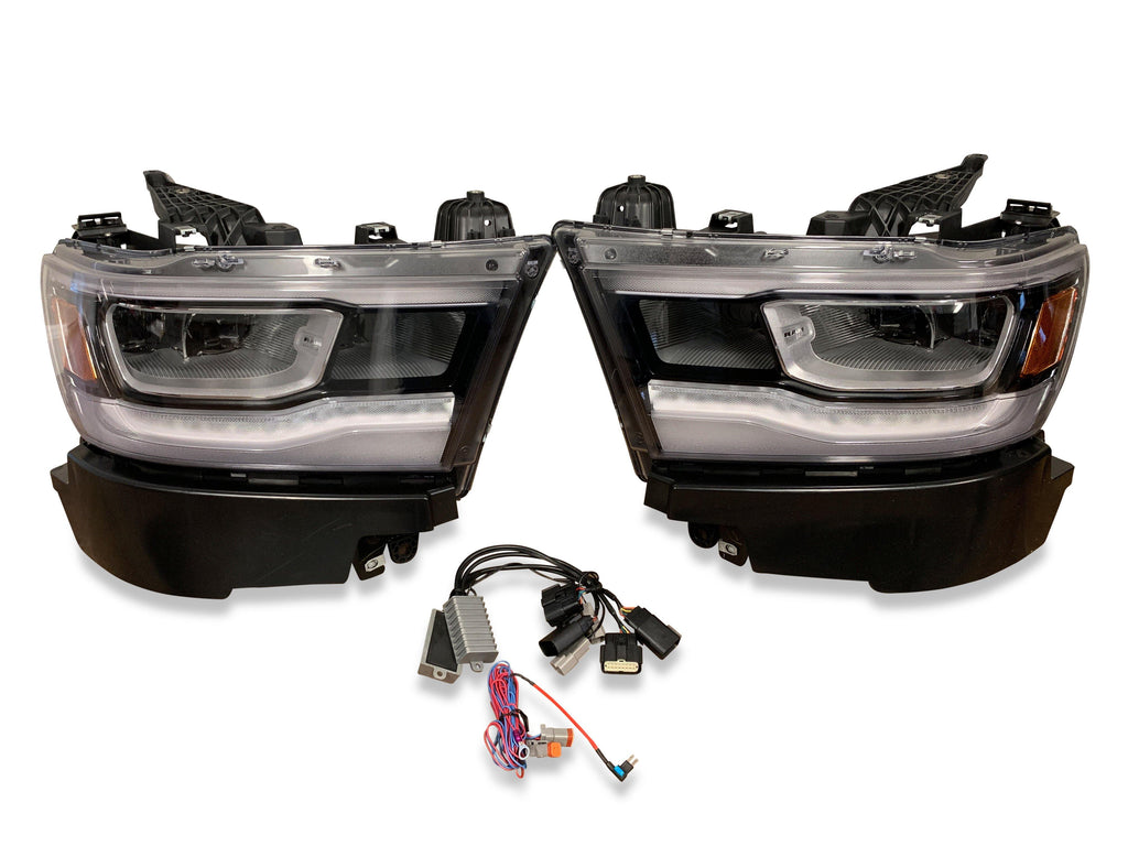 2019-2021 Ram 1500 Truck OEM Factory LED Headlight Upgrade Kit