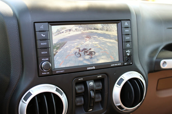 Mopar RBZ 430 MyGIG Touchscreen Radio - High