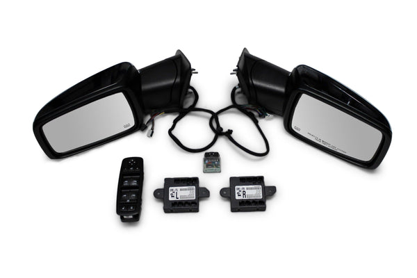 2013-2019 Ram Truck Power Folding Mirrors Package