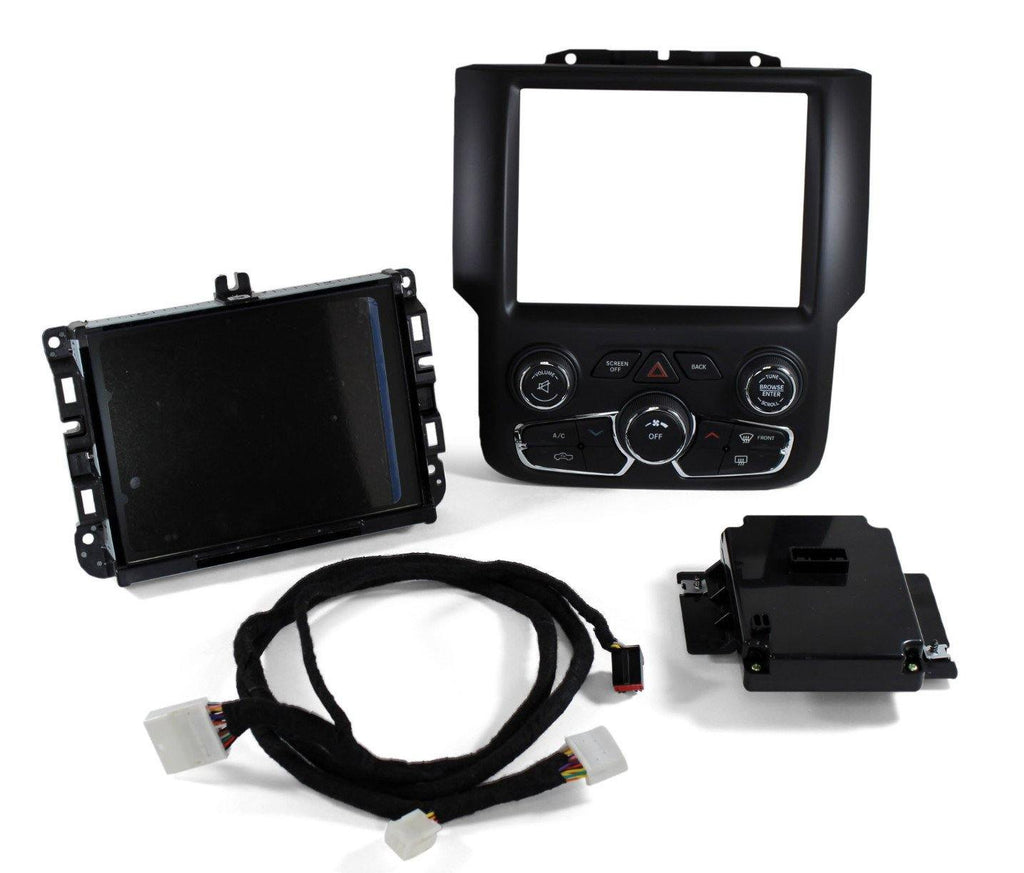 Factory Ram 1500 7SP GPS Navigation 8.4AN RA4 Radio Upgrade