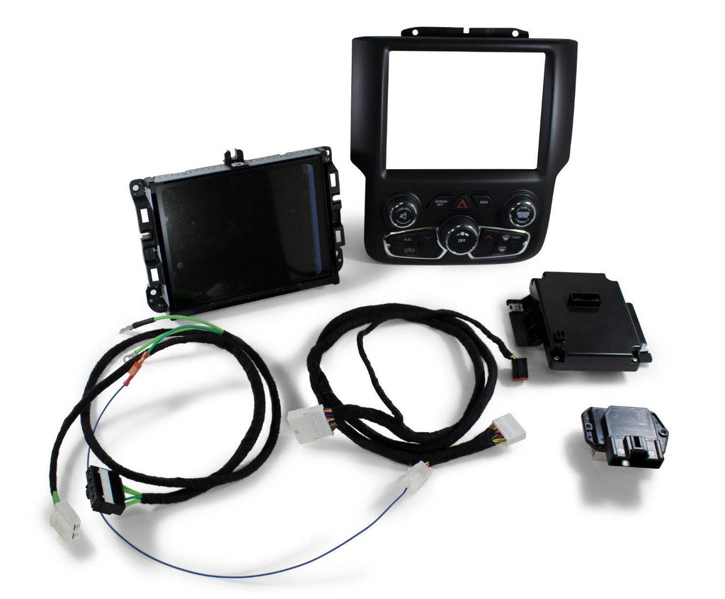 Factory Ram 2500 3500 HD 4SP GPS Navigation 8.4AN RA4 Radio Upgrade