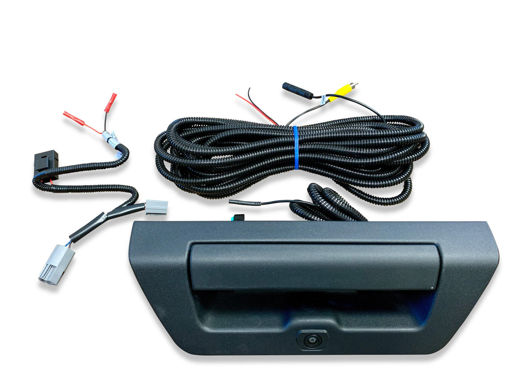 15-17 Ford F-150 Tailgate Handle Backup Camera Kit on