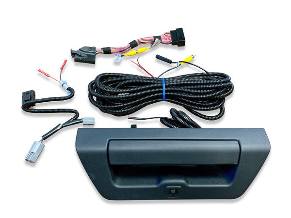 15-17 Ford F-150 Tailgate Handle Backup Camera Kit