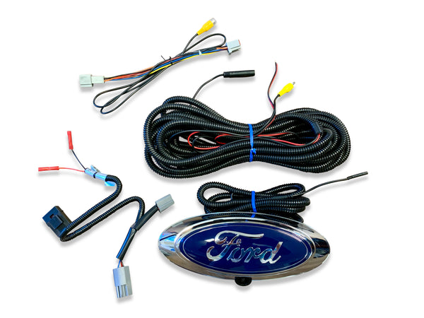 Ford Sync 1 Truck Tailgate Logo Backup Camera Kit
