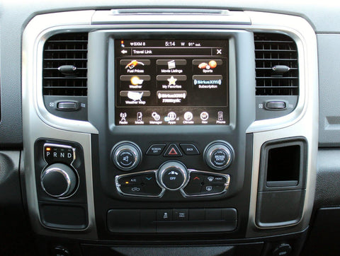 2013-2017 Factory Ram 1500 7SP GPS Navigation 8.4AN RA4 Radio Upgrade