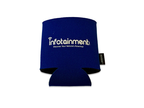 Infotainment.com Collapsible Can Cooler Koozie®