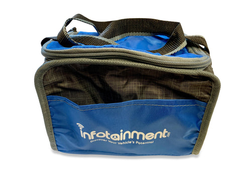 Infotainment.com Collapsible 6-Pack Lunch Cooler