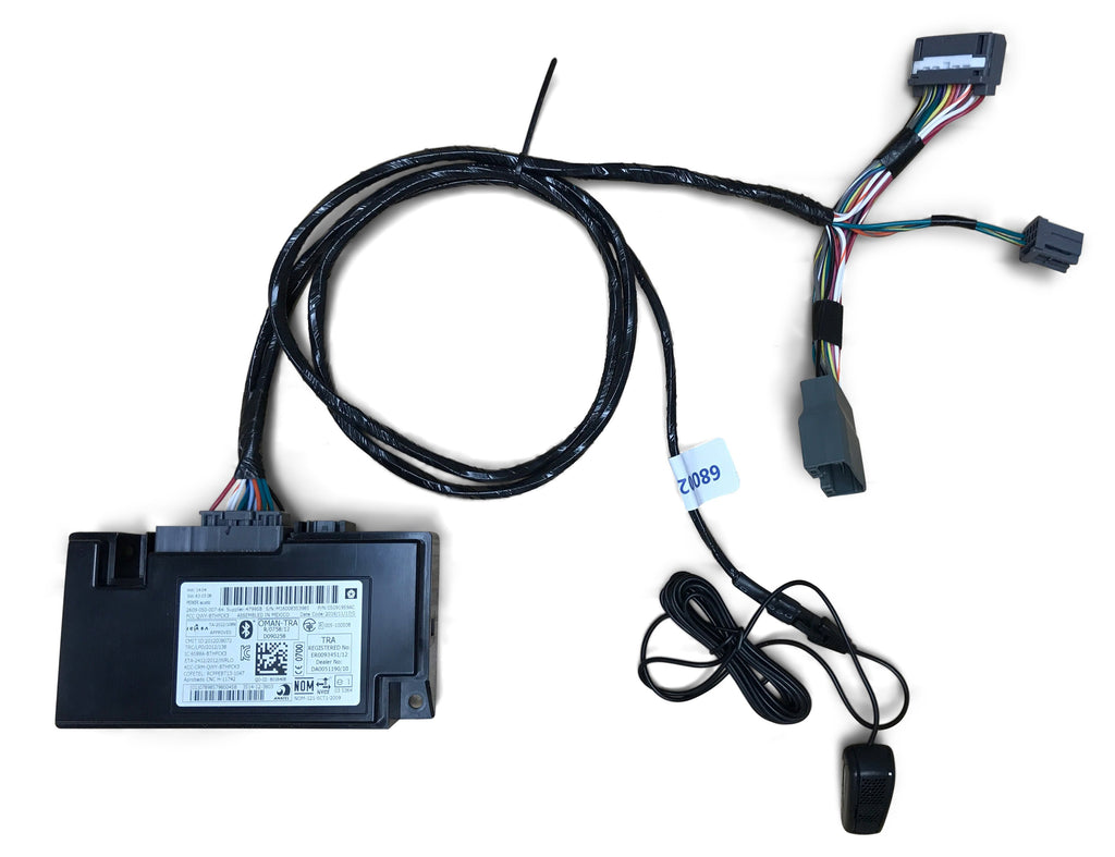 2010 dodge charger wiring harness uconnect   hands free kit low     infotainment com  uconnect   hands free kit low
