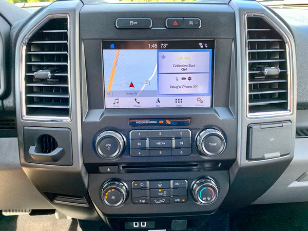 2015 Ford F-150 MyFord Touch Sync 2 to Sync 3 with Apple CarPlay and Android Auto Upgrade