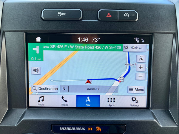 2016-2020 Ford F-150 Sync 3 GPS Navigation Upgrade