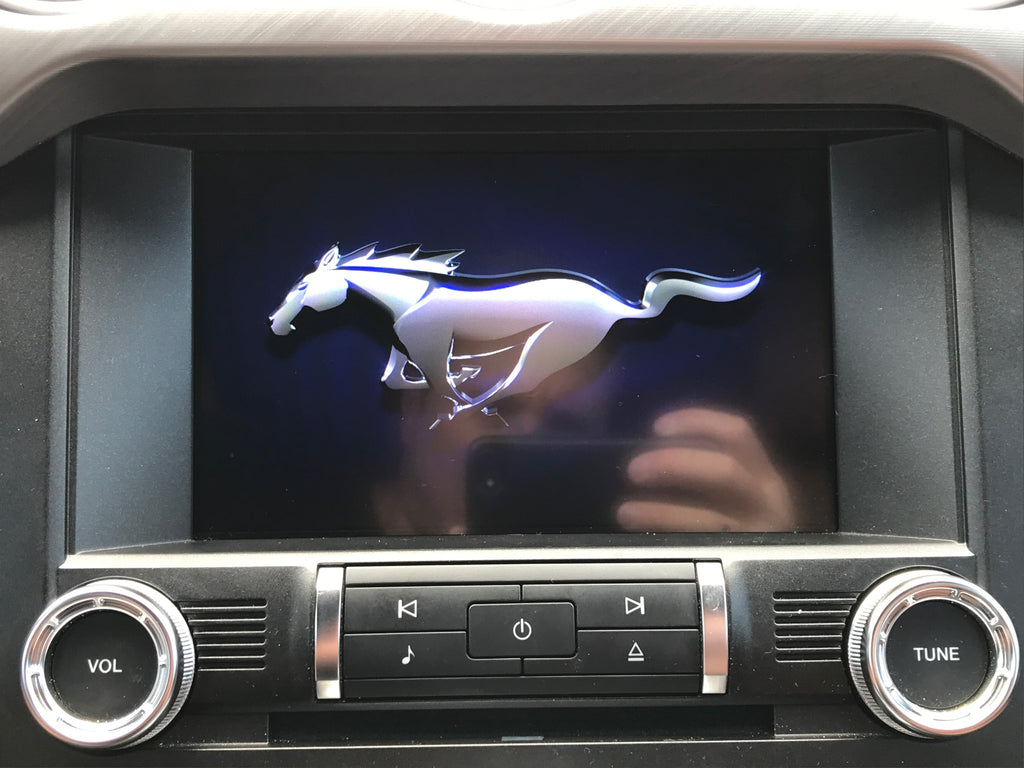 2019 2020 ford mustang 4 to 8 sync 3 touchscreen upgrade