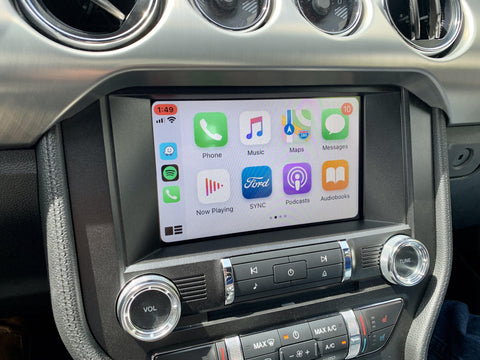 2015 Ford Mustang MyFord Touch Sync 2 to Sync 3 with Apple CarPlay and Android Auto Upgrade