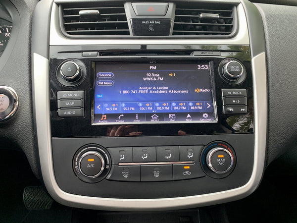 2013-2018 Nissan Altima NissanConnect® GPS Navigation Radio with Apple CarPlay and Android Auto