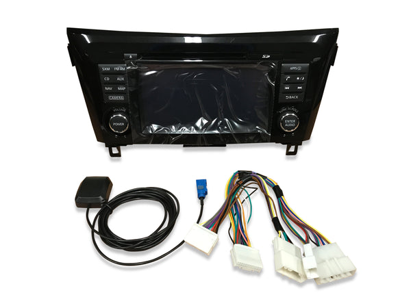 2014-2018 Nissan Rogue NissanConnect® GPS Navigation Radio