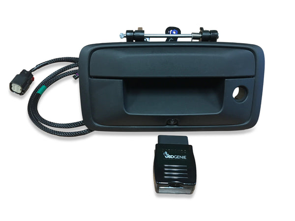 16-19 Silverado Sierra GM Truck TailGate Handle Backup Camera Kit
