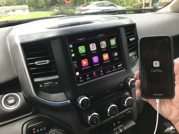 2019-2020 RAM Truck UAM Radio Uconnect 4 with 8.4-Inch Display including Apple CarPlay & Android Auto Upgrade