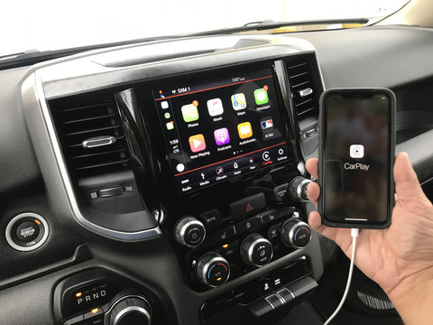 2019-2020 RAM Truck UAV Radio Uconnect 4C NAV with 8.4-Inch Display including Apple CarPlay & Android Auto Upgrade