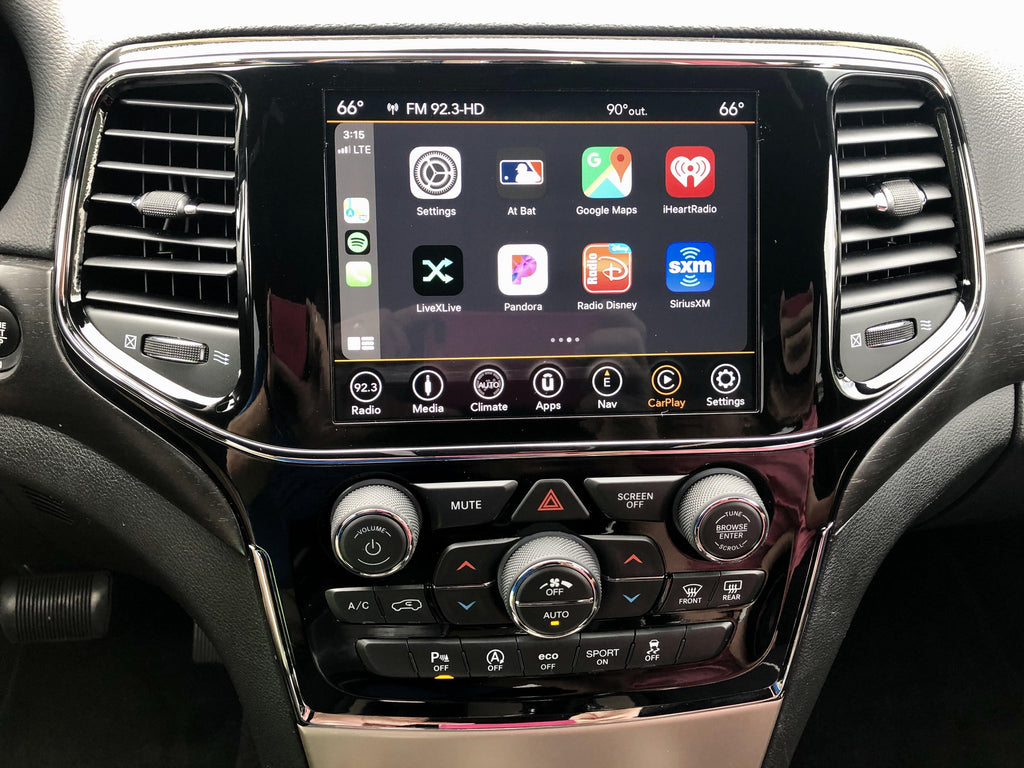 2014-2020 Jeep Grand Cherokee Uconnect 4C NAV with 8.4 ...