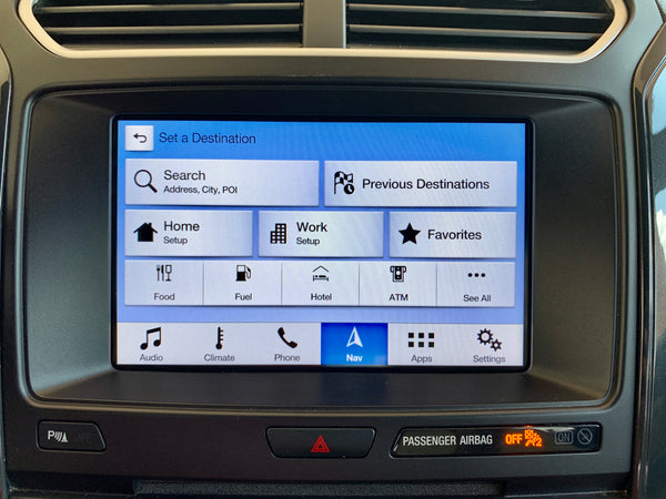 2017-2019 Ford Explorer Sync 3 GPS Navigation Upgrade