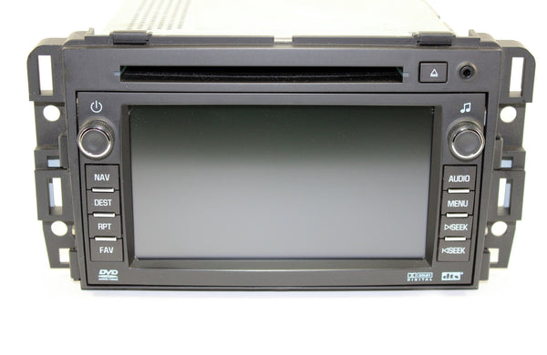 Gm Vin Decoder >> 2010-2012 GMC Acadia Factory GPS Navigation Radio ...