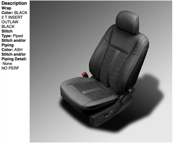 2015-2018 Ford F-150 Katzkin® Leather Seating Upgrade