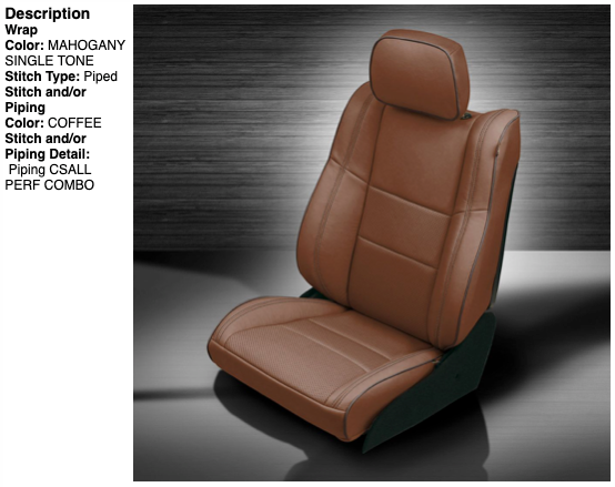 2011-2019 Jeep Grand Cherokee Katzkin® Leather Seating Upgrade