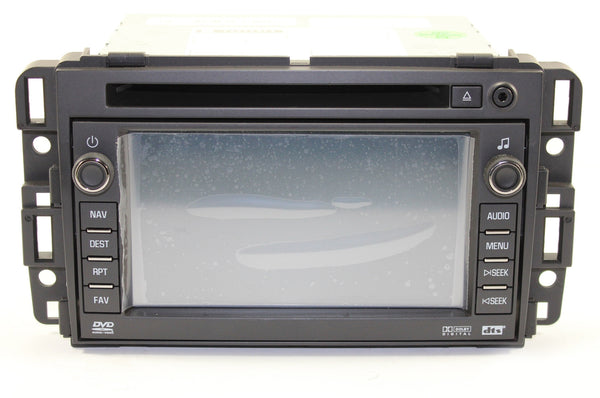 2007-2009 Chevrolet Avalanche Factory GPS Navigation Radio