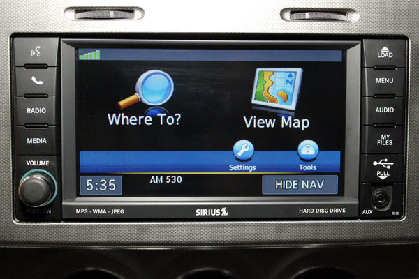 2011-2012 Dodge Caliber GPS Garmin Navigation RHB 430N Radio