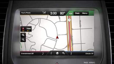 2011-2015 MyLincoln Touch Sync 2 GPS Navigation Upgrade