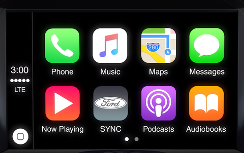 2011-2016 MyLincoln Touch Sync 2 to Sync 3 with Apple CarPlay and Android Auto Upgrade