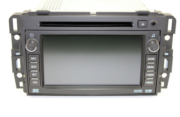 2009 Chevrolet Traverse Factory GPS Navigation Radio
