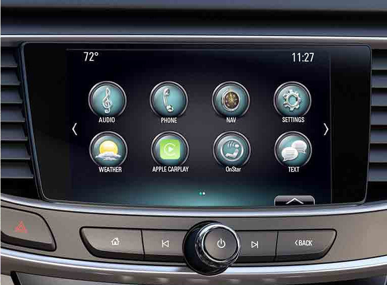 2018-2019 Buick Enclave IntelliLink® IO6 GPS Navigation Radio Upgrade