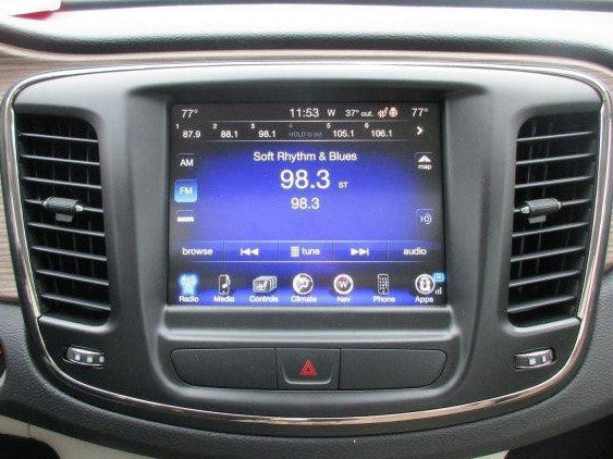 2015-2017 Chrysler 200 GPS Navigation 8.4AN RA4 Radio Upgrade