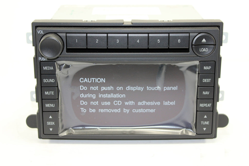 2007 2008 ford expedition gps navigation radio infotainment com rh infotainment com 2011 Ford Escape Navigation System Ford F-150 Navigation System